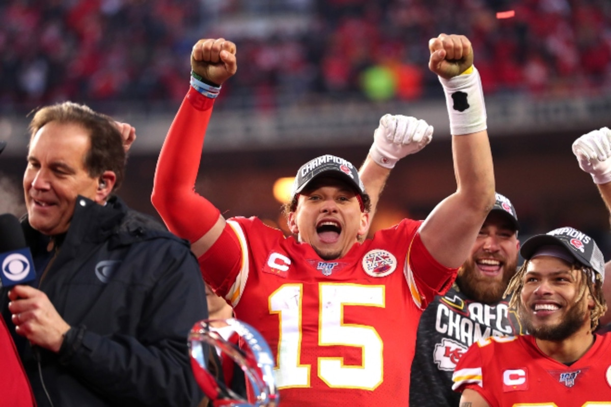 Here's how NFL fans are reacting to Chiefs and 49ers making the Super Bowl. cmplx.co/9bkvdTW