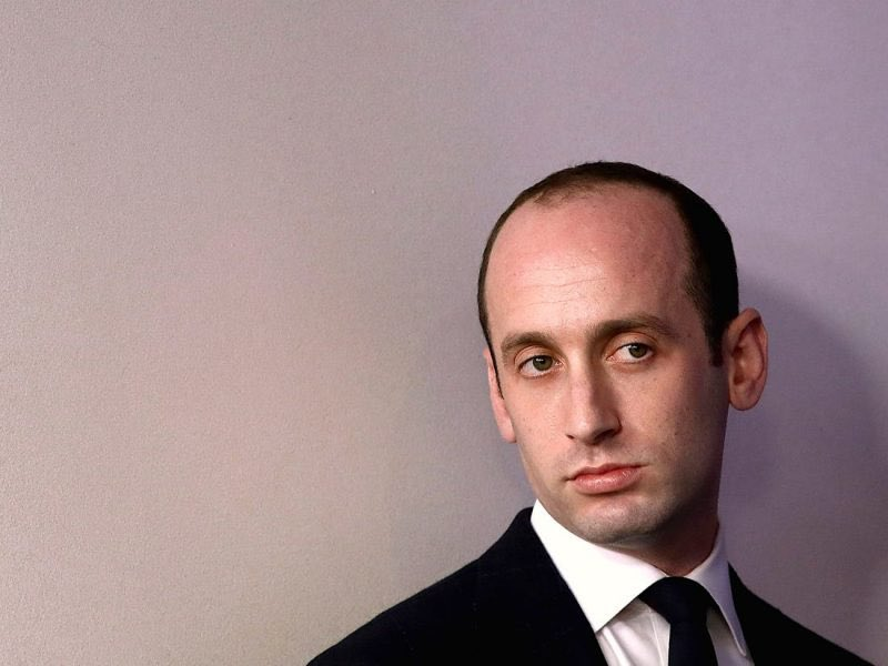 What is Stephen Miller getting ready to do right now?