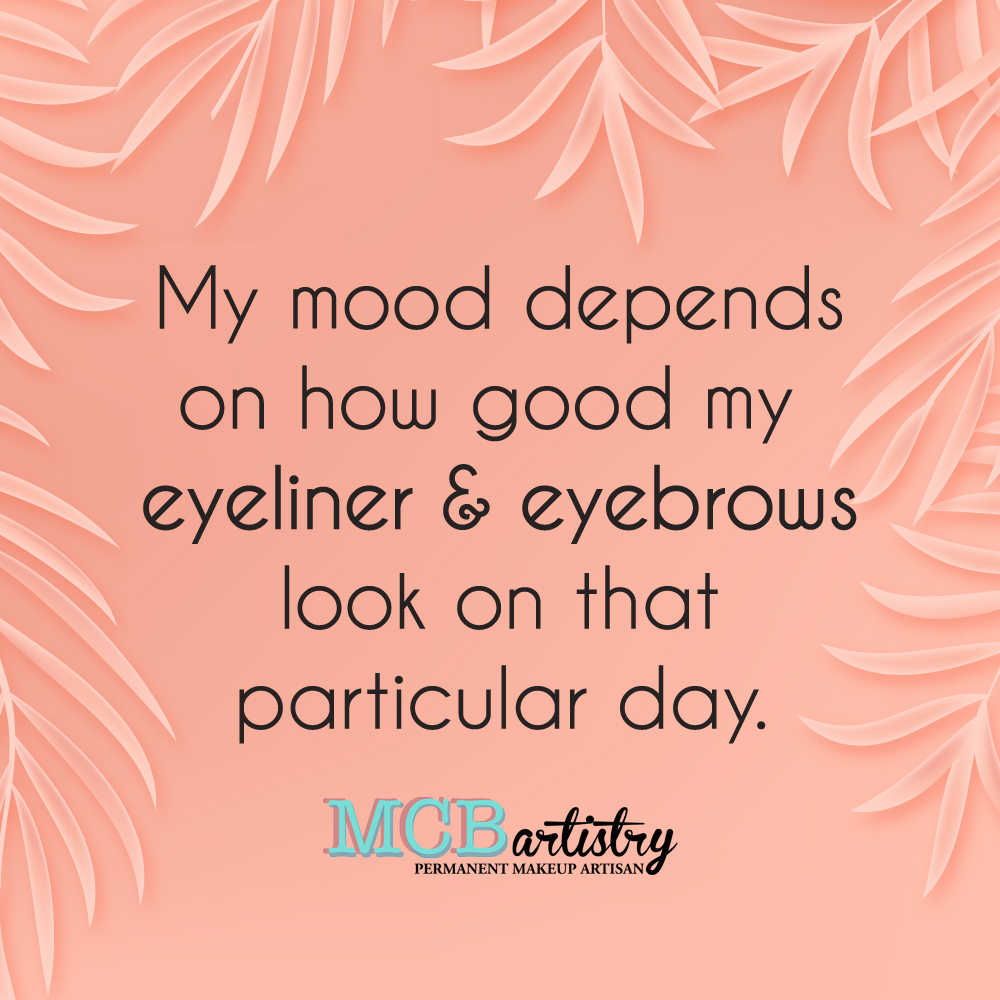 That's why all my clients are always in a good mood - they've got permanent makeup!  #MCBartistry #mood #makeup #lashes #brows #eyeliner #pmu #browartist #eyebrows #permanentmakeup #beautystudio #microblading #beautysalon #browlife #happy #permanent #beautiful #beautypic.twitter.com/zQuAR5tXhB