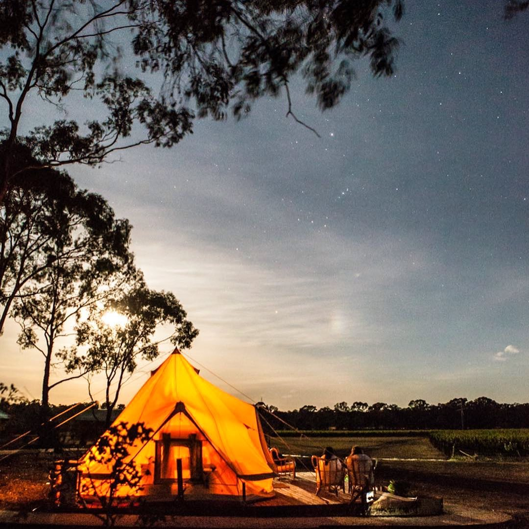 test Twitter Media - Glamping with Balgownie Estate in Bendigo looks like this 🙌 uninterrupted vineyard views, your own private deck and a glass of wine in hand; a perfect summer night. https://t.co/1IO88NnogI
