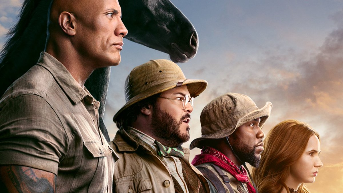 Finally caught #JumanjiTheNextLevel and I'm not sure why, but these movies just really work for me. The cast, the humor, the silliness makes it such a fun time at the movies! pic.twitter.com/CoBe36z3yW