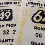 Image for the Tweet beginning: Ticket sold in Prairies wins