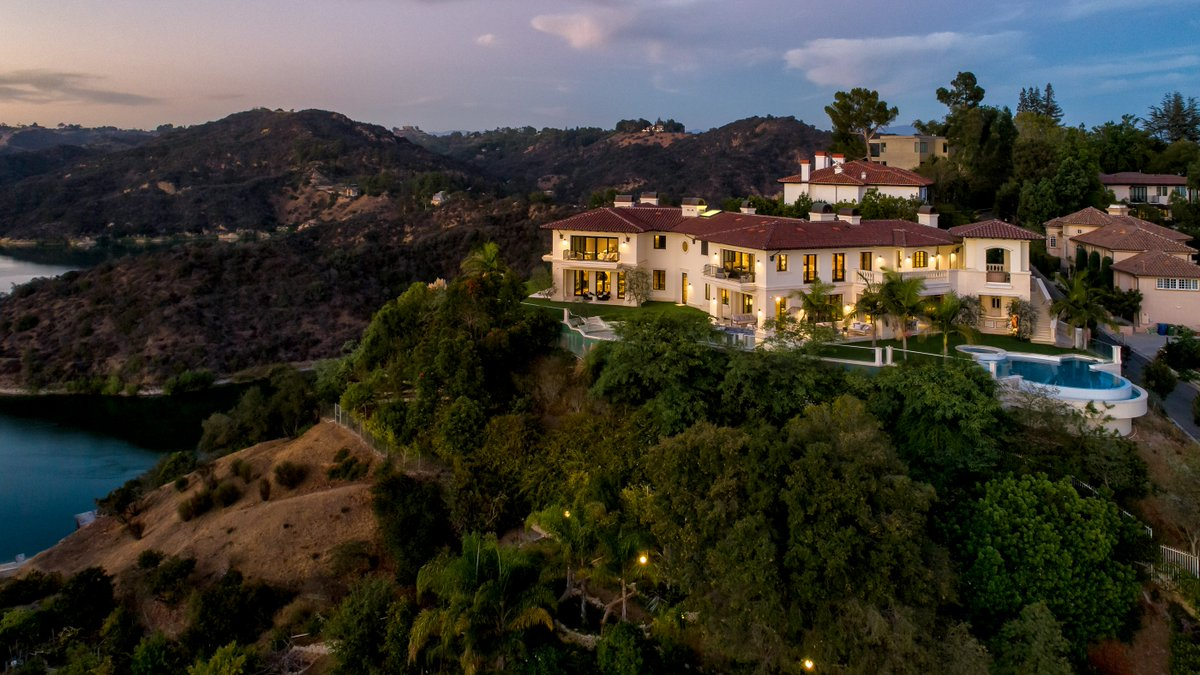 Image for the Tweet beginning: This $25 million mansion used