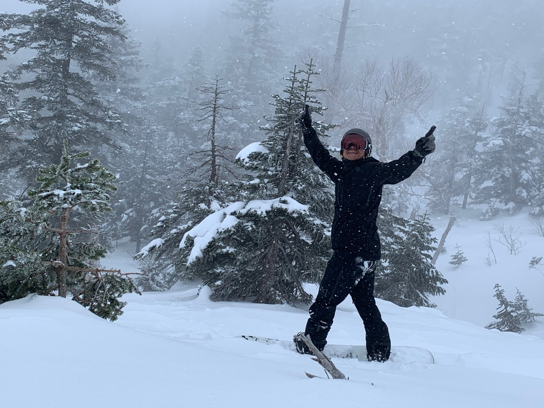 よっしゃ〜〜〜 ー アメブロを更新しました#脇阪寿一#かぐらスキー場