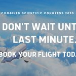 Image for the Tweet beginning: Have you booked your flight