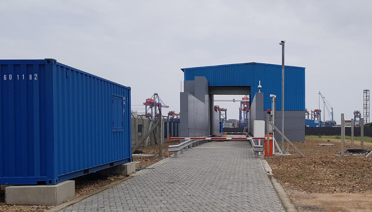 APM Terminals Pipavav commences drive-through container scanner facility