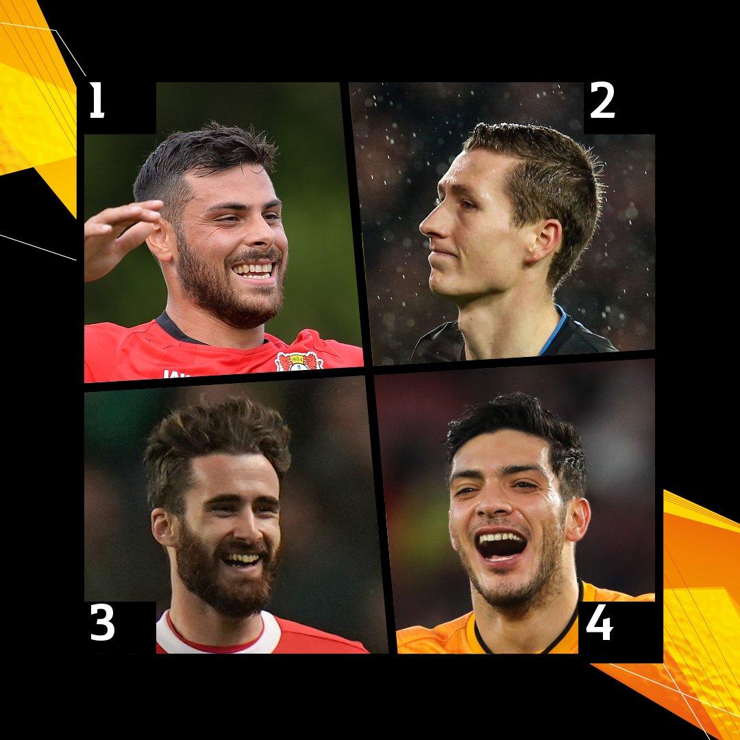 Which two-goal performer did it best on the weekend?    Volland   Vanaken   Rafa Silva   Jiménez    #UEL