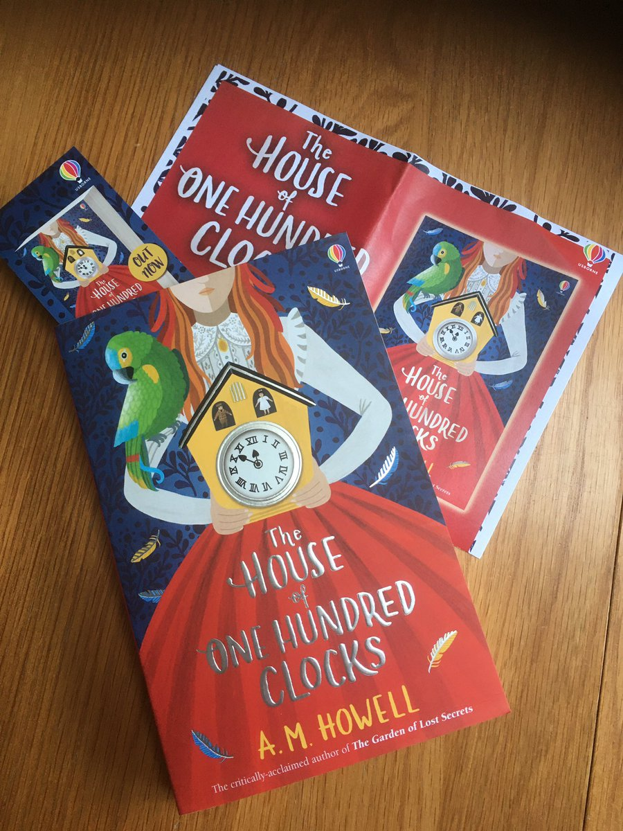 Hooray for lovely book post and thank you thank you to lovely @Usborne for this brilliant treat by @AMHowellwrites I've been really looking forward to this one! ❤️❤️