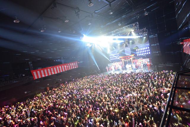 【ライブレポート】あらなるめい追加公演にXYZメンバー集結、なるめいに書き初めでサプライズ(写真11枚)