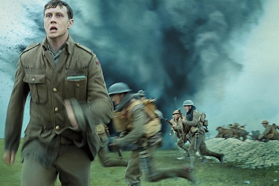 1917 **** Reviewed on ZANI https://bit.ly/2sKdA32  #1917 #BenedictCumberbatch #Cinema #SamMendes  #GeorgeMacKay #DeanCharlesChapman #MarkStrong #RichardMadden #ColinFirth #ThomasNewman #NoMansLand #France #SavingPrivateRyan #War #WorldWarIpic.twitter.com/PovN4gxaxz