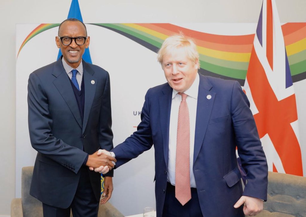 President Kagame is now attending the UK-Africa Investment Summit where he began the day with a bilateral meeting with Prime Minister @BorisJohnson. The summit is attended by Heads of State and Government from across Africa. #InvestInAfrica<br>http://pic.twitter.com/ZmcylWZmgy