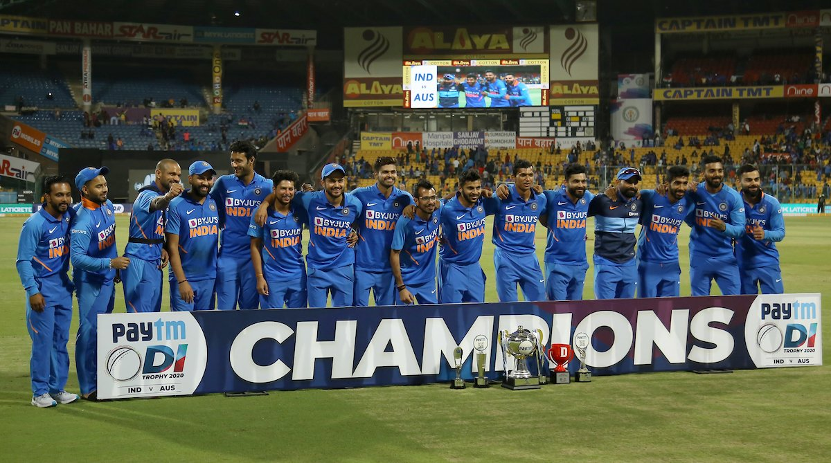 #BlueDressTwitter Men in blue  #TeamIndia congratulations for another winning series  <br>http://pic.twitter.com/2XK73aB7hw