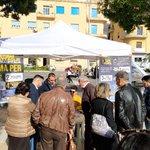 Image for the Tweet beginning: Agrigento, affluenza boom per la