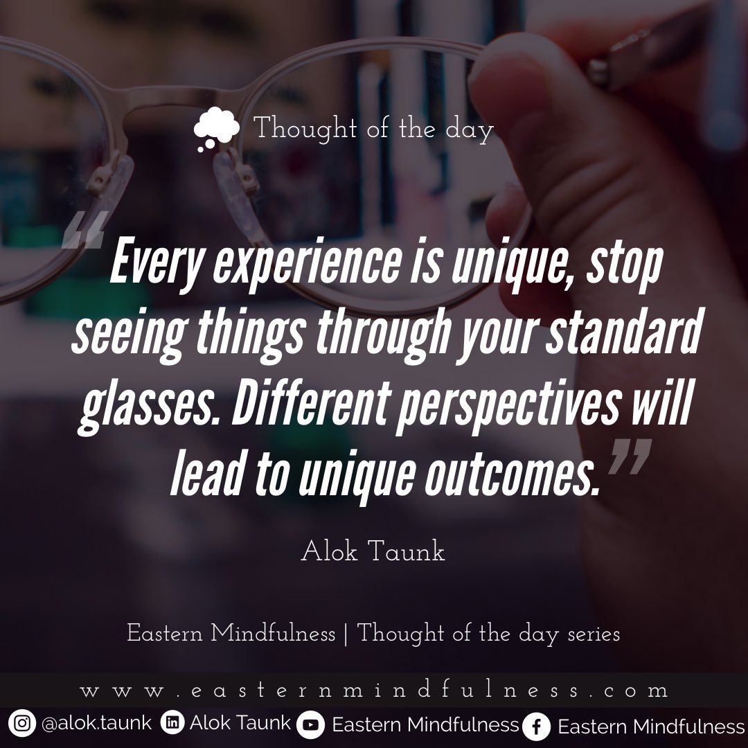 Change your perspective THOUGHT OF THE DAY#monday | #thoughtoftheday series  #thoughts #mondaymotivation #excellence #perspective #successquotes #aimforthemoon #dailythought #lifetip #growthmindset #aloktaunk #share #lifemotivation #valueyourself #successmindset #achieverspic.twitter.com/4qqejeK3Qf