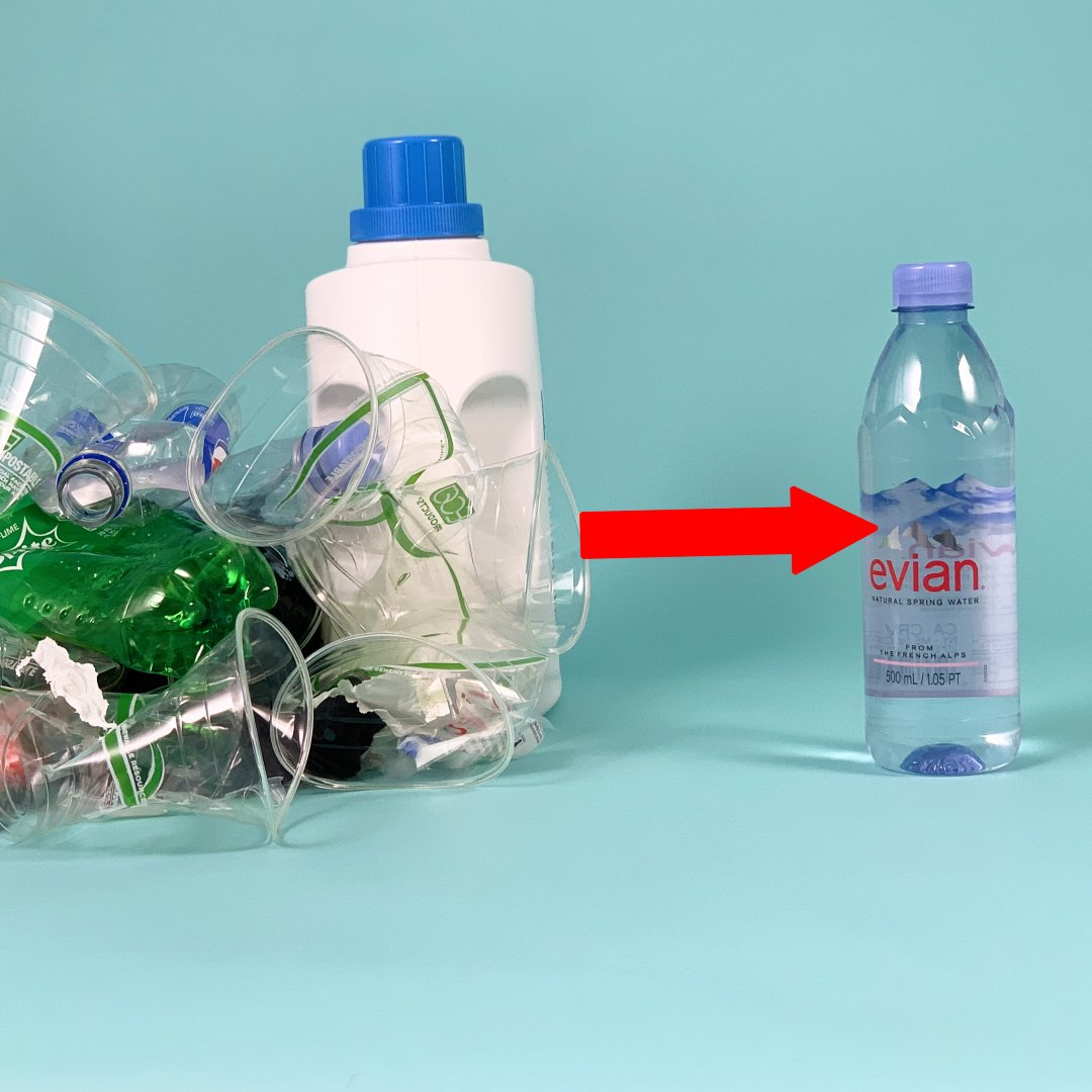 This recycling tactic avoids the use of petroleum and natural gas