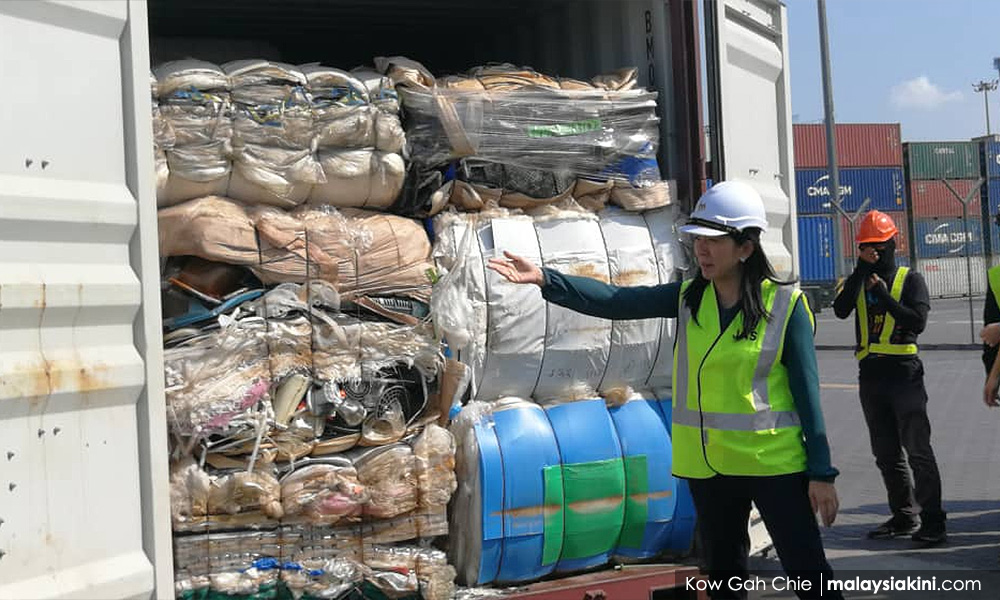 M'sia returns 150 containers, 3,737 metric tonnes of plastic waste https://www.malaysiakini.com/news/507740