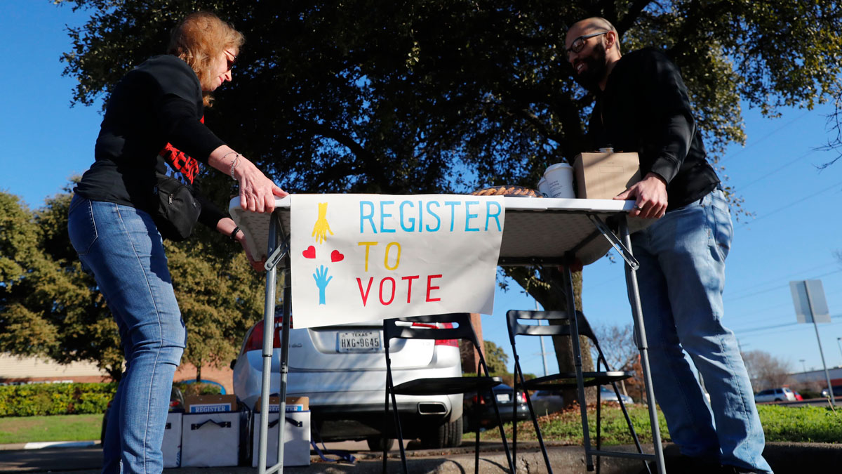 In Texas and other states, voters face a variety of barriers -->