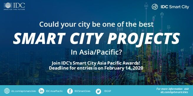 A #SmartCity creatively uses #technology to efficiently use limited resources like energy & water. Is your city a model of eco-friendliness? Nominate it for #SCAPA2020: http://www.idc.com/ap/smartcities pic.twitter.com/Eg0B3FAzYE