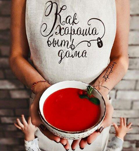 Размер фартука подойдет всем поварам, он регулируется и украшает любой ужин.  Фартук льняной Как хорошо быть дома   #follow4like #razverni #amazing #магазинподарков #подарок #необычныйподарок #лучшийподарок #разверни