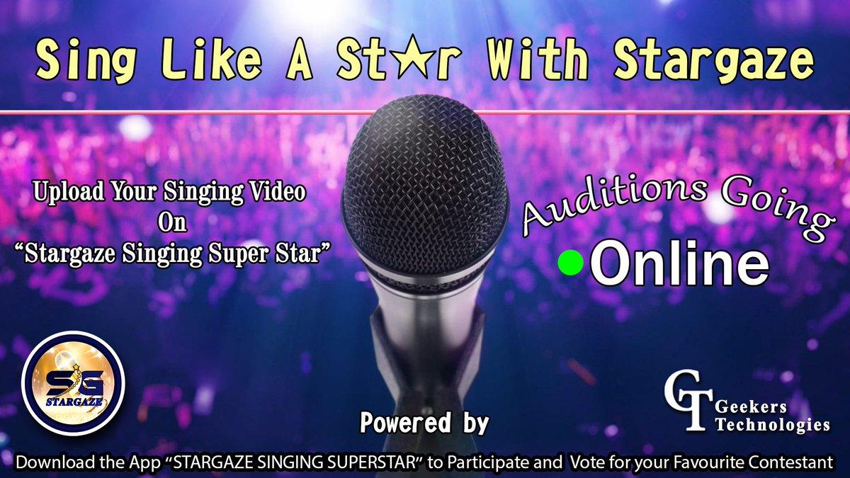 Auditions are going on.. Sing like a star.. https://play.google.com/store/apps/details?id=com.stargazeonline…  #stargaze #singing #indiansingers #sufi #talent #talentshow #Artist @punjabisingers #Share #support  #talentswag #Indian #allindia @gurusethi2002 @ritika344 @Priya98262109 @preetsethi2010pic.twitter.com/PCcte1YF1Q