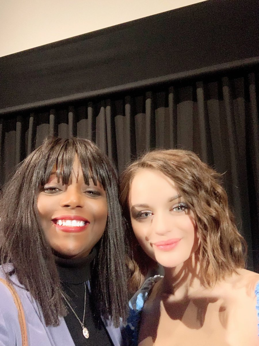 I met the lovely, talented and brilliant actress @JoeyKing at the screening of the @Hulu series #The Act. She has received critical acclaim for her role and his earned a #EmmyAward and #GoldenGlobe Award, & #ScreenActor nominations. She has a long wonderful career ahead of her. <br>http://pic.twitter.com/aYB2Pc9EDP