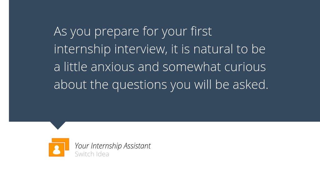 What they ask at internship interviews? https://lttr.ai/MUUu #Internship #Interviewtips pic.twitter.com/GTgirFDI7Q