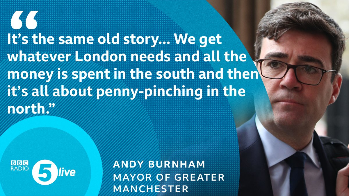 What Im not going to accept is that we might get some kind of second-class option in the north The Mayor of Greater Manchester @AndyBurnhamGM reacts to the news from a leaked review that the northern part of #HS2 could be paused 📲 bbc.in/366wAGt 🎧 @BBCSounds