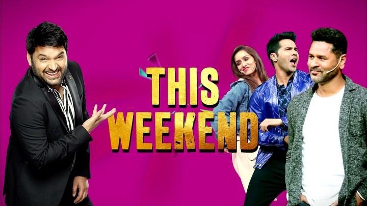 Tonight team #streetdancer3d in #thekapilsharmashow #streetdancerintkss #Tkss @varundvn @shraddhakapoor @norafatehi @remodsouza @prabhudevaofficial #puneet #salmanyusuffkhan #dharmesh @raghavjuyal #sushantpujari stay tuned 🤗 @sonytvofficial #comedy…