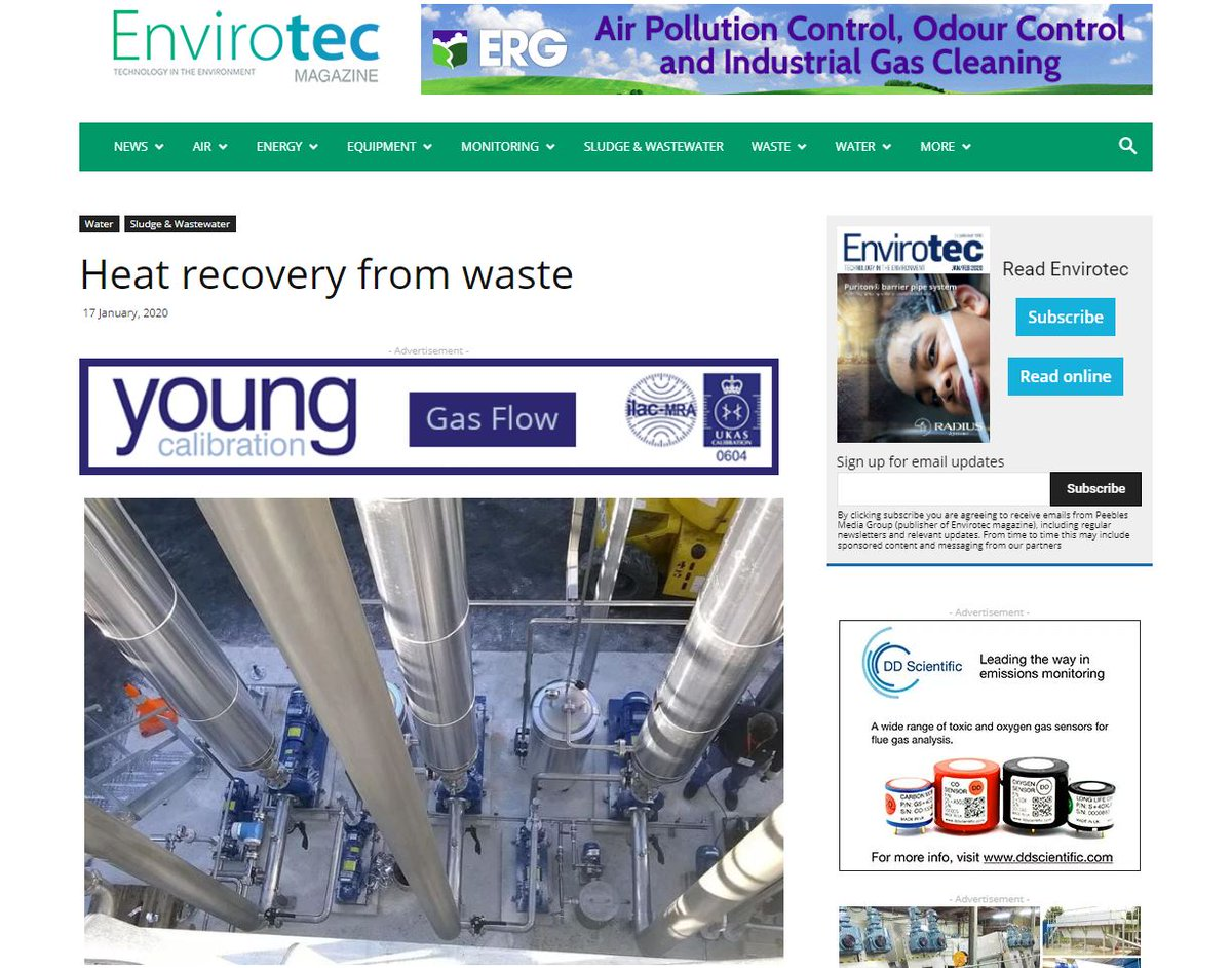 test Twitter Media - ZLD is a technique which aims to discharge no liquid waste to the environment, instead recovering as many products from the 'waste' stream as possible and leaving just water, which can be re-used. Read more @envirotecmag where HRS is featured https://t.co/KxCL0Lx0My https://t.co/gUiCz7ZzeC