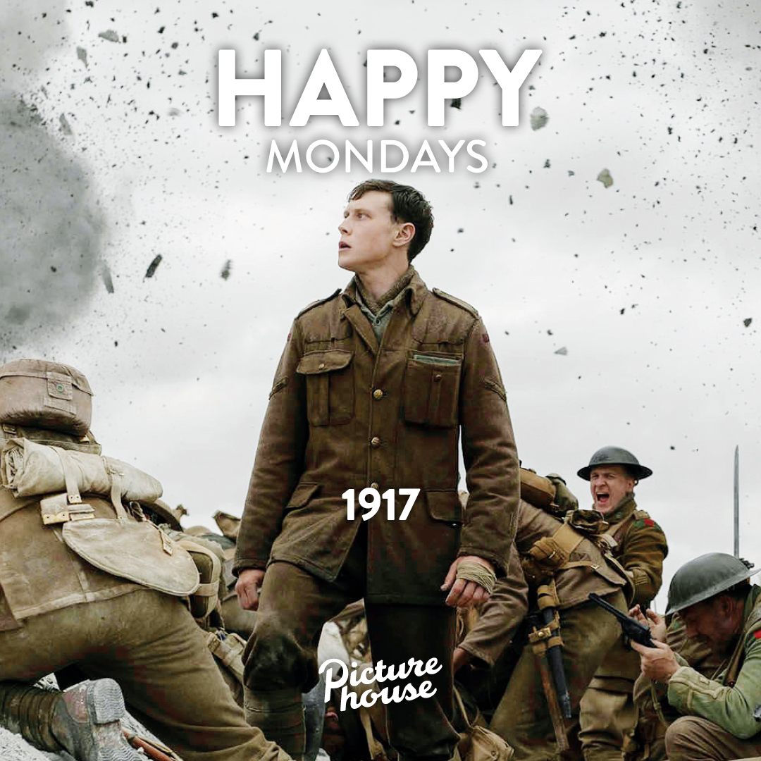 Haven't seen #1917Film yet? Then today is the day! #HappyMondays Tickets all day only £7.70 (Adults) or £5.70 (Members) http://ow.ly/5L8750xXewI  . #ColinFirth #BenedictCumberbatch #Dean-CharlesChapman #AndrewScott #GeorgeMacKay #NottingHill #Cinema #Picturehouse #SamMendespic.twitter.com/3Rbacycpj2