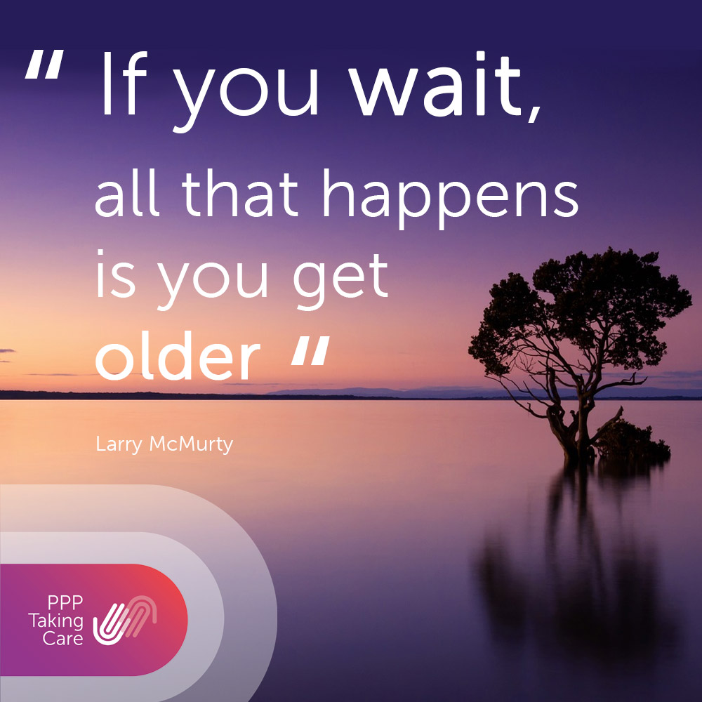 """""""If you wait, all that happens is you get older"""" #mondaymotivation #seizetheday <br>http://pic.twitter.com/syC1LOcALQ"""