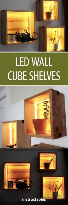 LED Wall Cube Shelves  #led #ledlamp #light #home   #followmejp #AutoFollow #GoFollow #Quickfollow pic.twitter.com/NvApWQlcm1