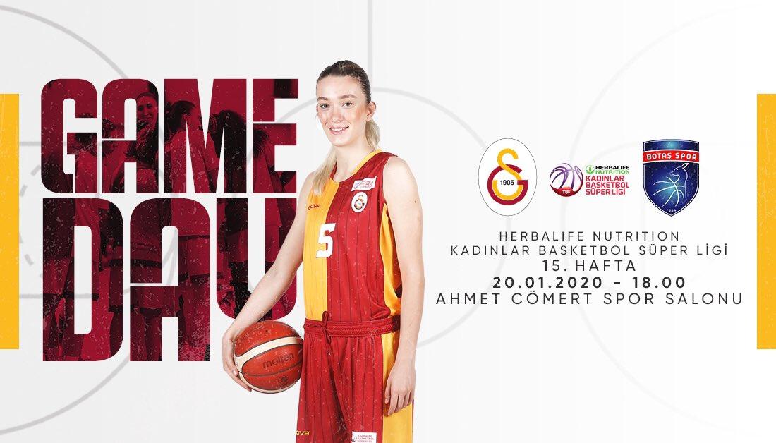 🔥 GAMEDAY 🔥🏆 Herbalife Nutrition KBSL 15. Hafta🆚 BOTAŞ🗓 20.01.2020⏰ 18.00📍 Ahmet Cömert Spor Salonu#⃣#SarayınSultanları #GSvBOT