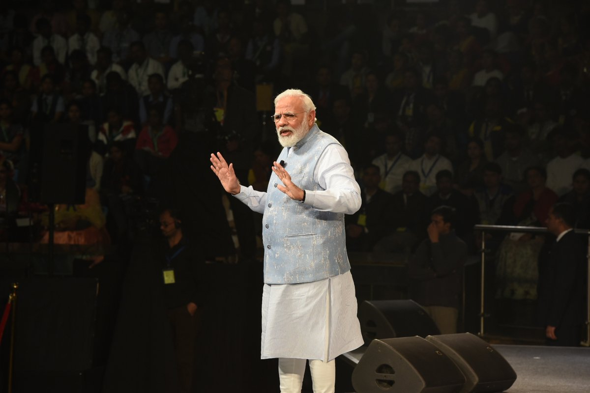 "Prime Minister Modi interacts with students for third edition of ""Pariksha Pe Charcha 2020"""