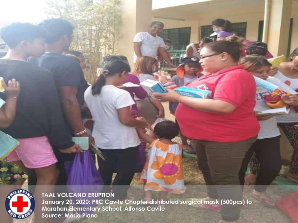 In Cavite, our volunteers and staff distributed 500 surgical masks in Marahan Elementary School in Alfonso Cavite.