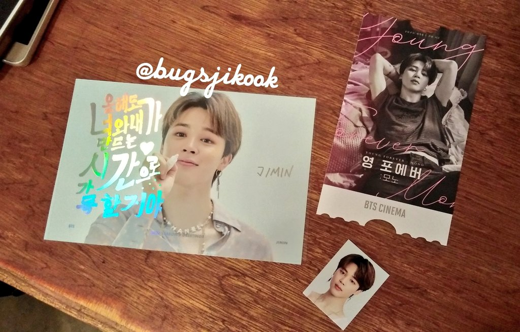 PH Mini Giveaway: Official #JIMIN Photoset 🖤  ↘ SG 2020 Postcard ↘ SG 2020 Photo ID ↘ ARMY Zip/BTS Cinema  Mechanics: ↘ Follow me 😘 ↘ Reply with your bias, biaswrecker and ship 💜 ↘ Subscribe to my channel: http://youtube.com/patricesese   One winner, ends on January 31!