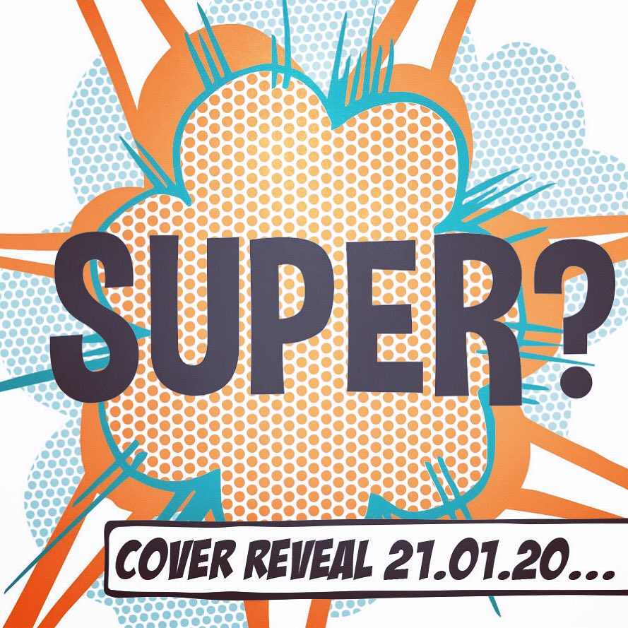 Oooh, well you'll be the judge of that! I am SUPER excited to reveal the cover of PIZAZZ tomorrow! Keep 'em peeled....