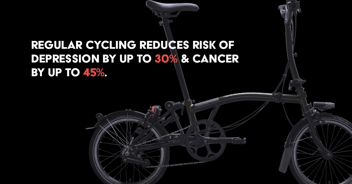 We know cycling isn't the answer, but it sure can help! #BlueMonday<br>http://pic.twitter.com/G5GziFUYkR