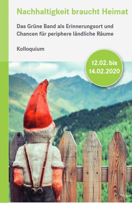 """Einladung: Kolloquium """"Das Grüne Band als #Natur- und #Erinnerungsort"""" in Bad Alexandersbad. Ziel ist es, eine Brücke zwischen dem #Nachhaltigkeitsdiskurs des Natur- und Umweltbereiches und kulturpolitischen Debatten zu schlagen: https://115940.seu2.cleverreach.com/m/11763440/0-0d9bb8803bd072102c12061df7c32300… @bund_netpic.twitter.com/4jlNUBku73"""