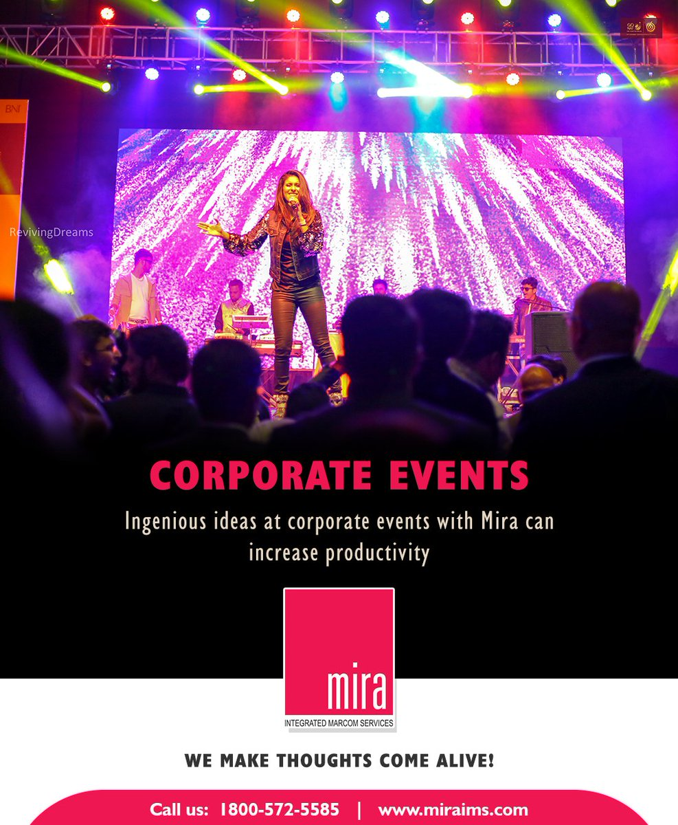 Mira events #stride beyond your expectations in #planning and #making it special  http://bit.ly/2Z5HihI  Call us: 18005725585  #corporateevents #miraims #miraevents #hyderabadevents #events #weddingplannerinhyderabad #Weddingplanners  #eventplannersinhyderabad #specialmoments pic.twitter.com/RtcX6Wb2nZ