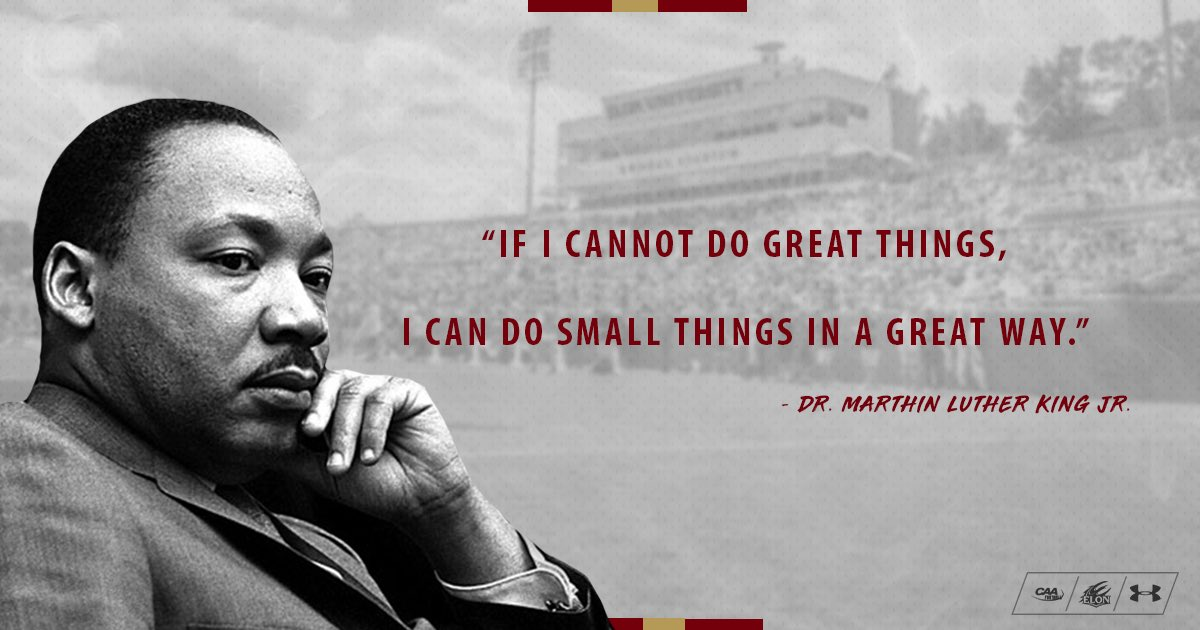 A courageous and inspiring man! Thank you for all you have done. #MLKDay <br>http://pic.twitter.com/lCunbpigHd