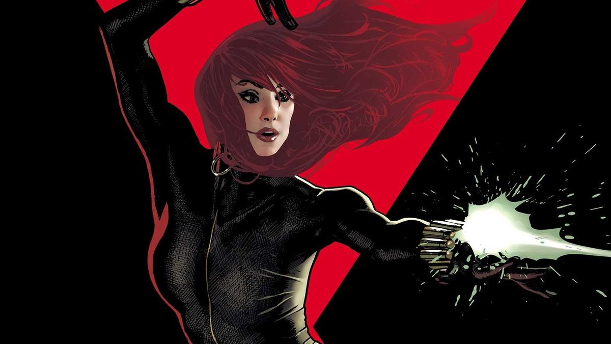 Marvel's new Black Widow comic will explore the duality of Natasha Romanoff. Check out our exclusive interview with writer Kelly Thompson.  http:// bit.ly/2v6WSvy    <br>http://pic.twitter.com/wU69ln7fvv