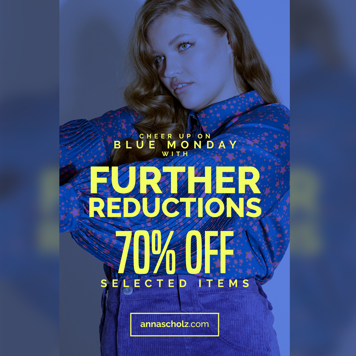 test Twitter Media - Blue monday further reductions at https://t.co/kwh8VxU6Zt #plussize #plussizefashion #annascholz https://t.co/uWWpZK6yZU