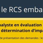 Image for the Tweet beginning: Joignez-vous à notre équipe! Le