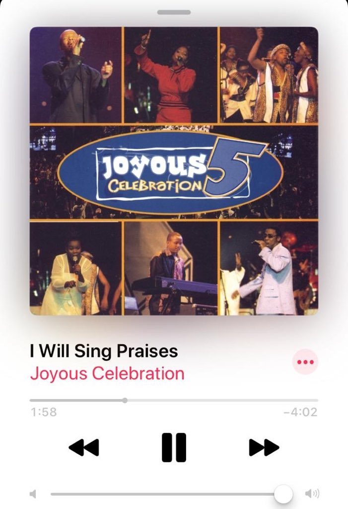 RT @JoyousSA: #SongOfTheWeek  Which MTN Joyous Celebration qualifies as your song of the week?  #TheRock https://t.co/1CYqL9ZbGN