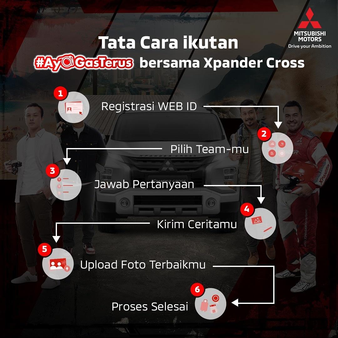 Ikuti kompetisi #AyoGasTerus dari Mitsubishi Xpander Cross dan menangkan hadiah utama perjalananan bersama @rifato @sumargodenny @ariefmuhammad dan @nicholassaputra. Untuk info lebih lanjut kunjungi http://xpandyouradventure.com #MTVNAD #MetroTVAd #MedcomAdpic.twitter.com/YfZ2w0iElx