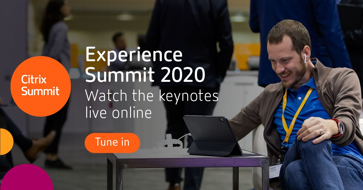 Weren't able to join us at #CitrixSummit live? Rewatch the keynotes to get an early look at our 2020 vision on SalesIQ here.