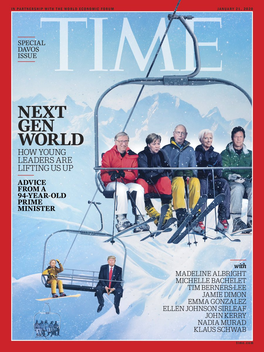 Our second annual special issue for #Davos is out, with contributions from @timberners_lee @mbachelet @Emma4Change @ianbremmer @NadiaMuradBasee @arynebaker @MaEllenSirleaf Klaus Schwab & many more https://time.com/collection/davos-2020/5767469/new-generation-leadership/ … @wef