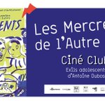 Image for the Tweet beginning: CINÉ-CLUB Exils adolescents, un film documentaire