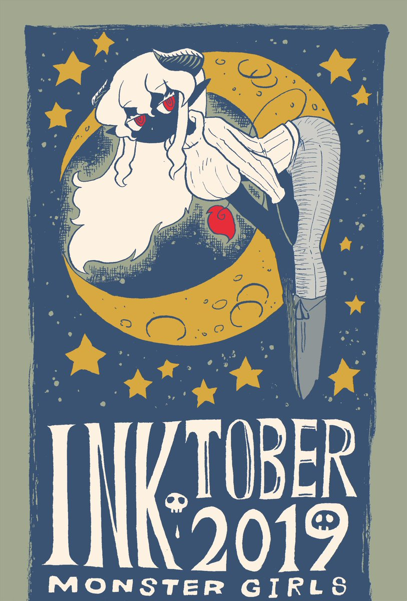 inktober 人外娘編 | ラリアット #pixiv 10月に描いたInktoberをpixivにまとめましたー、投稿遅れてすまぬ